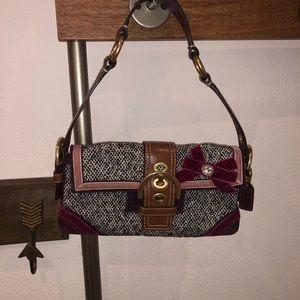 Coach holiday mini purse